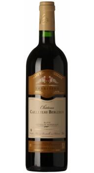 Château Cailleteau Bergeron, Blaye Tradition - Fransk rødvin
