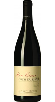Côtes du Rhône, Mon Coeur - Fransk rødvin