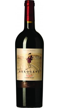 Arrogant Frog Shiraz Croak Rotie - Fransk rødvin