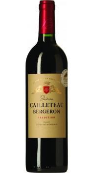 Château Cailleteau Bergeron, Blaye Côtes de Bordeaux, Trad. - Cabernet Sauvignon