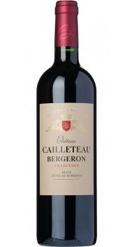 Château Cailleteau Bergeron, Blaye Côtes de Bordeaux, Trad. - Rødvin