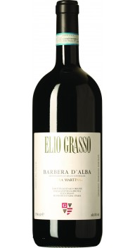 Barbera d'Alba, Vigna Martina, 1,5 l i trækasse - Barbera-vine