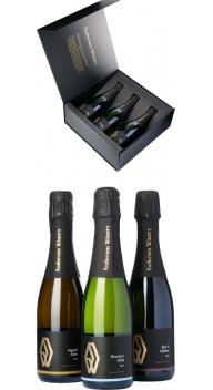 Andersen Winery, Gaveæske 3 x 1/2 fl - Dansk mousserende vin