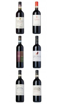 Sangiovese-kassen - Sangiovese vin