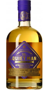 The Quiet Man 12 year old Single Malt in tube - Whisky