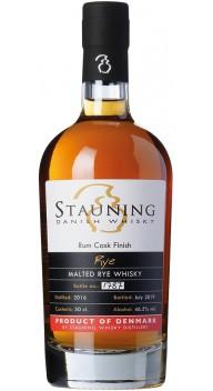 Stauning Rye Rum finish Juli 2019 - Whisky