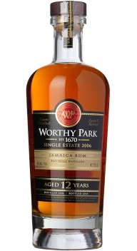 Worthy Park Single Estate 12 YO Cask Strength - Rom