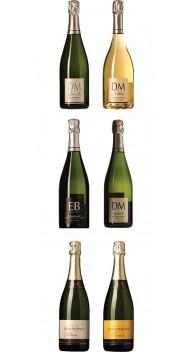 Champagne-kassen - Smagekasser