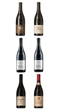 Châteauneuf-du-Pape 2016-kassen - Smagekasser / prøvekasser