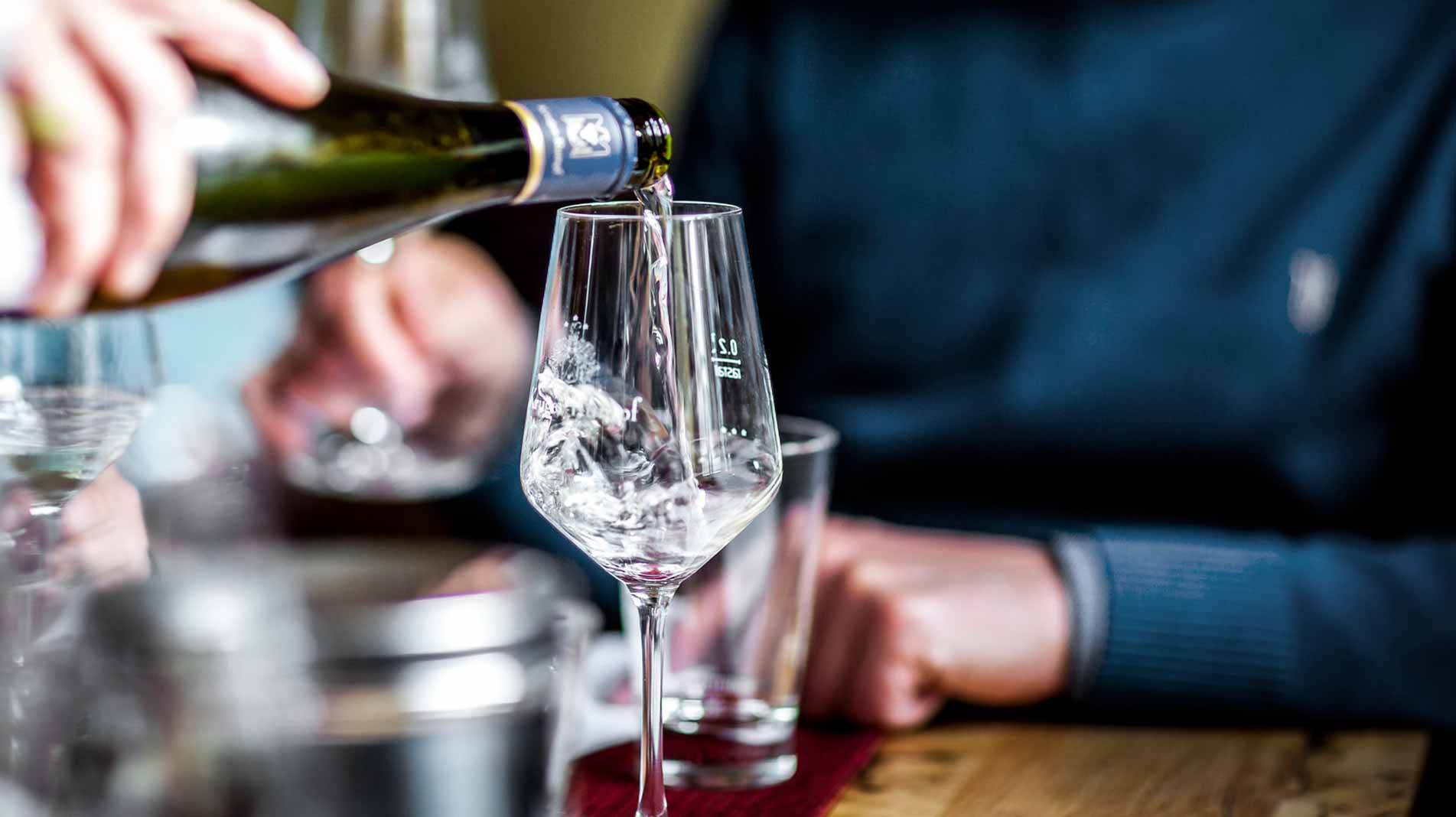 Efterstræbte Hvad betyder det, at en hvidvin er tør? RO-33